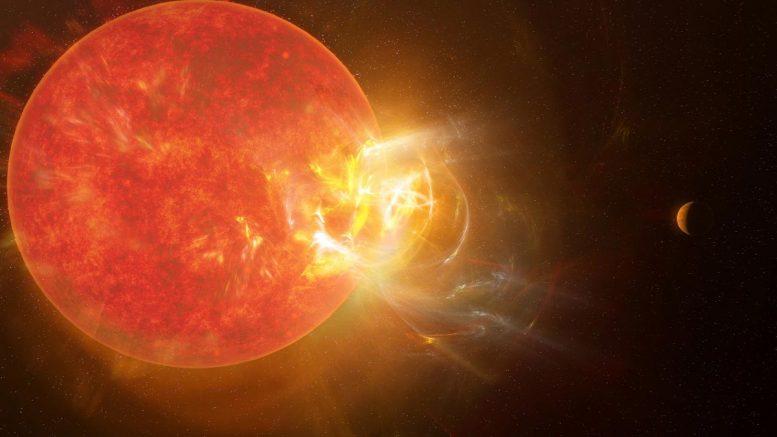 Llamarada astral violenta Proxima Centauri