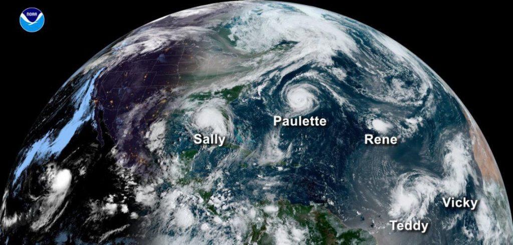 Predecir otra temporada de huracanes salvajes en 2021 después de establecer el récord en 2020
