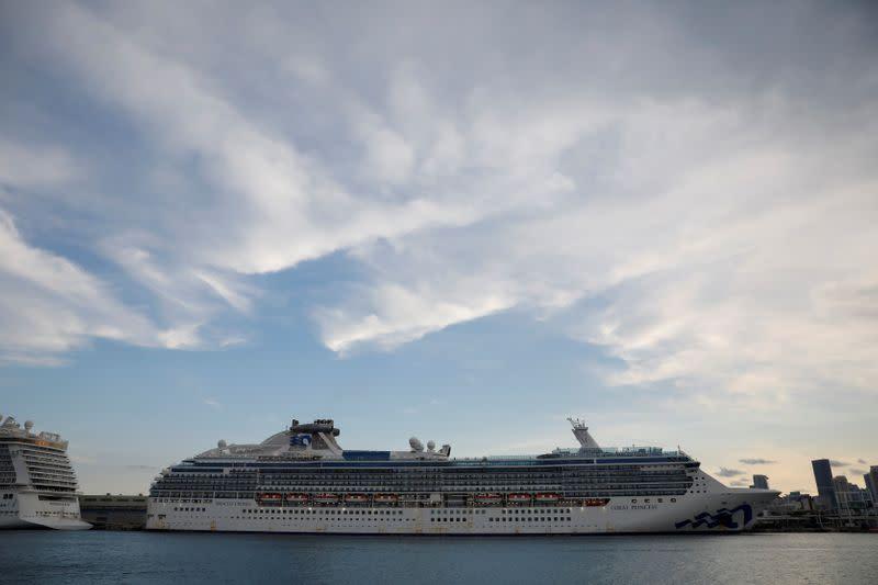 Los ejecutivos de la industria de cruceros y los expertos en salud se están reuniendo para discutir planes para reiniciar