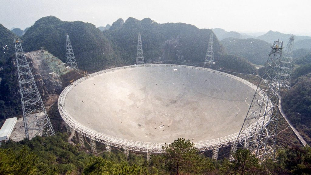 El telescopio FAST China detecta más de 200 púlsares