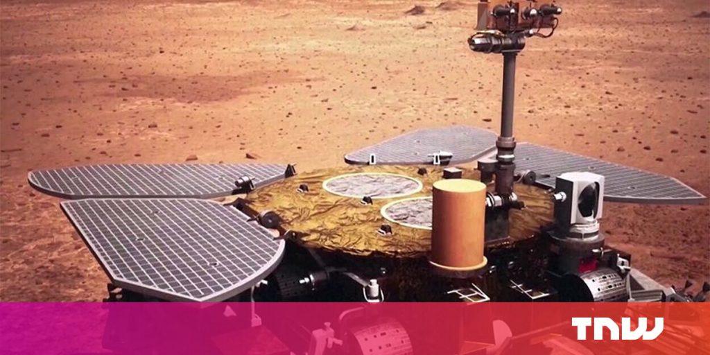 China aterrizó su rover en Marte en el primer intento: aquí está el siguiente paso