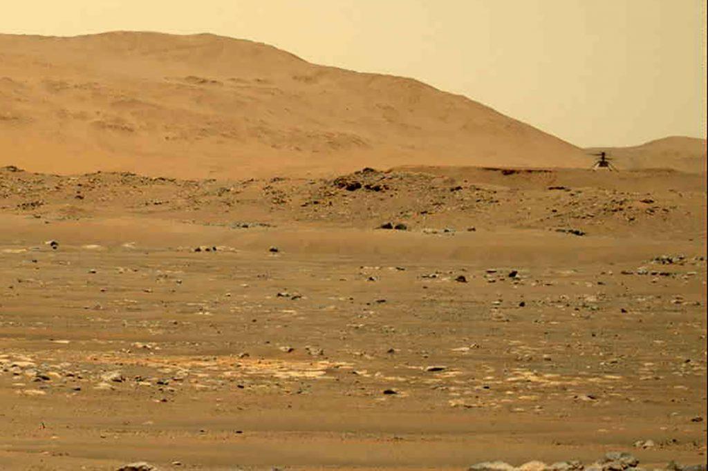 El helicóptero de Marte de la NASA escuchó el fino aire de Marte