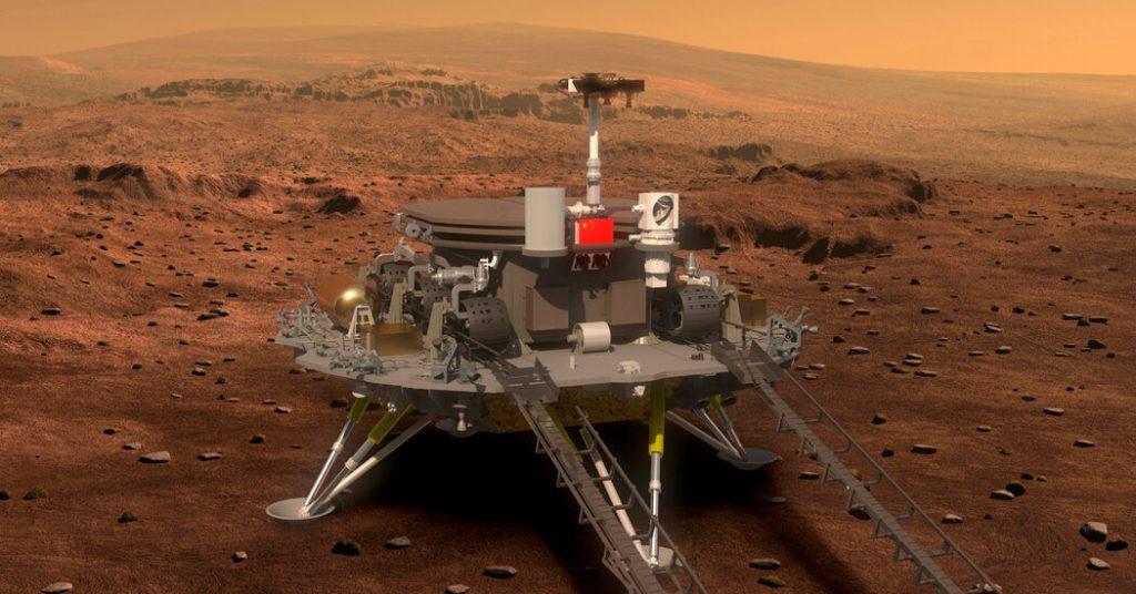 Lo que sabemos sobre el aterrizaje de Marte en China