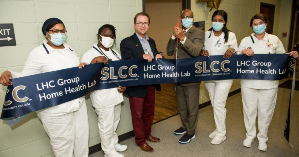 SLCC abre un nuevo laboratorio de capacitación en salud domiciliaria en Abbeville