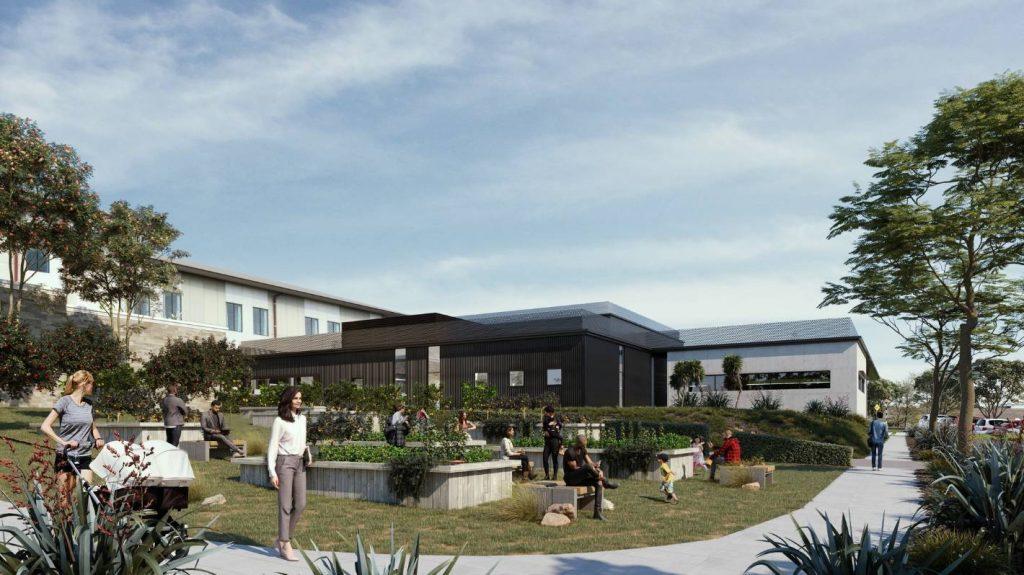 Se han firmado diseños por valor de 236 millones de dólares para el parque de salud de Manukau, y la construcción comenzará en unos meses.
