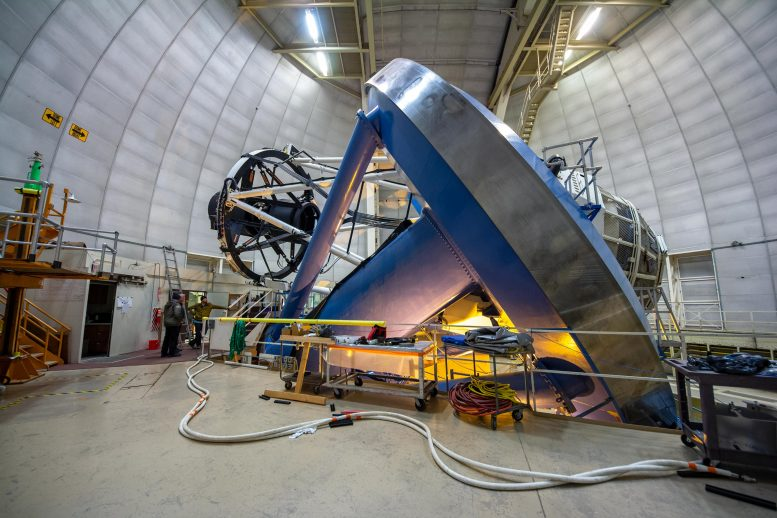 Telescopio espectroscópico de energía oscura