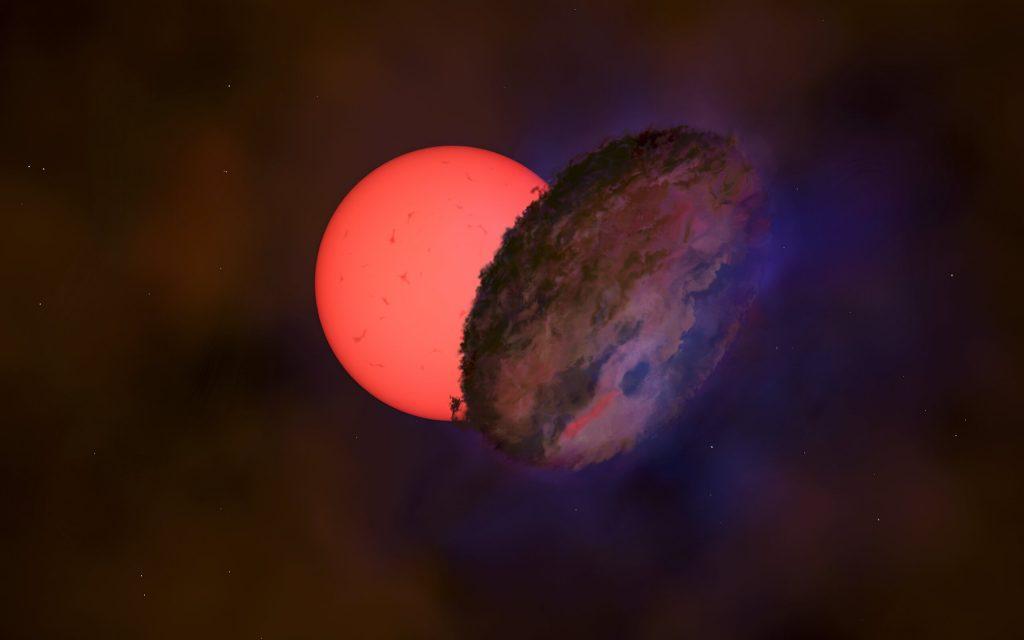 Los astrónomos descubren un 'gigante parpadeante' cerca del centro galáctico