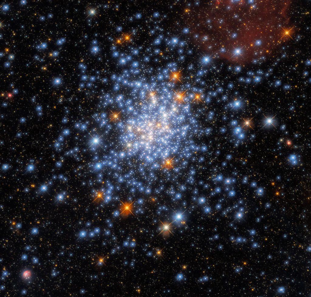 La dispersión de estrellas nos muestra algo nuevo sobre el universo y el telescopio espacial Hubble