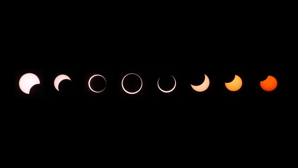 """Eclipse solar """"Anillo de fuego"""" 2021: seguimiento, visualización de mapas y guía fotográfica"""