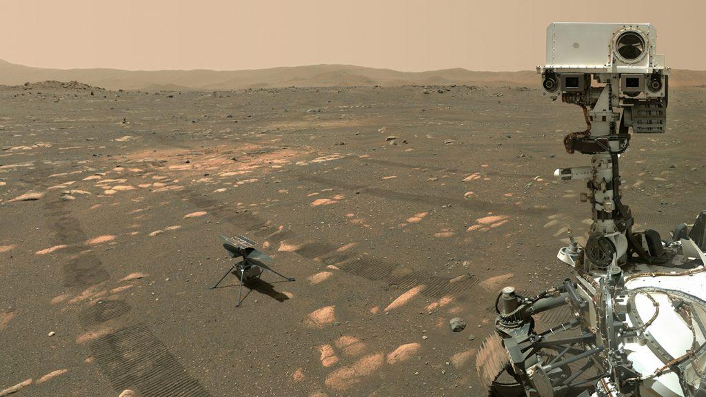 El rover de Marte de la NASA marca la marca de los 100 días en el Planeta Rojo