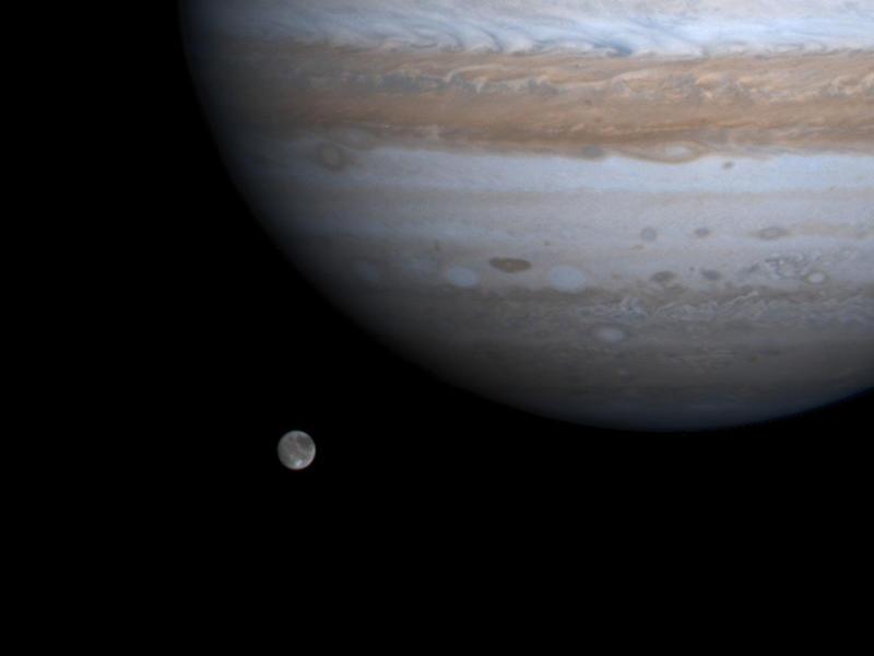 La nave espacial Juno de la NASA observará más de cerca la luna de Júpiter el lunes