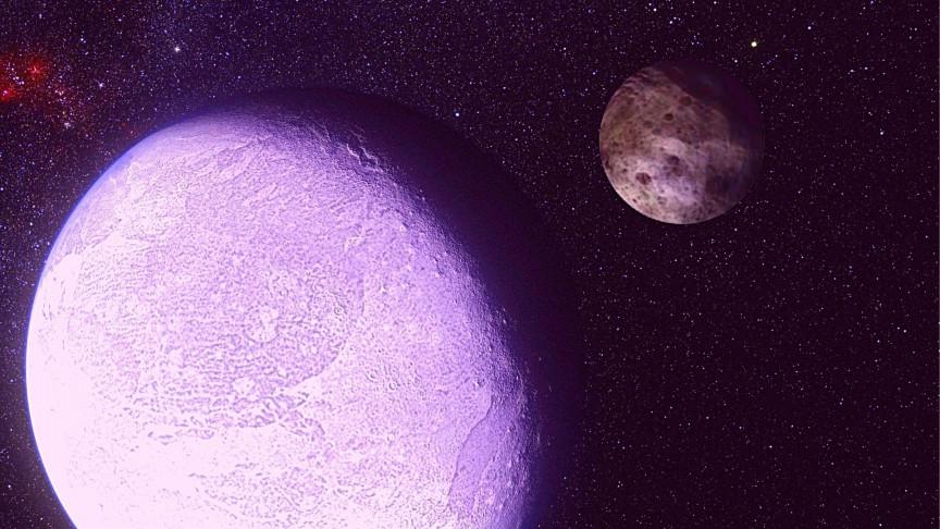 Los astrónomos han encontrado un pequeño planeta que se dirige hacia el interior del sistema solar.