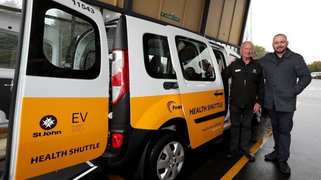 Los camiones eléctricos de salud llegan a Southland para impulsar el negocio de St. John
