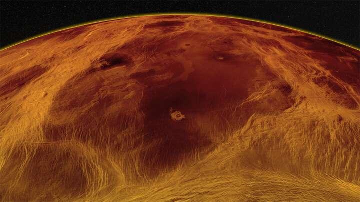 La superficie de Venus puede romperse en pedazos entrecortados
