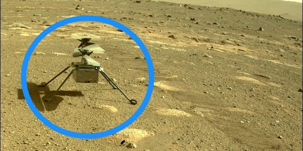 El helicóptero Mars Creativity de la NASA ha aterrizado en el décimo vuelo, doble expectativa