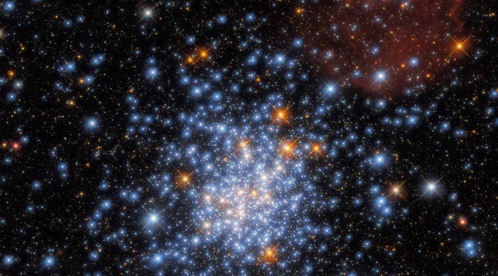 La NASA muestra la imagen del espacio nacional Hubble para el fin de semana