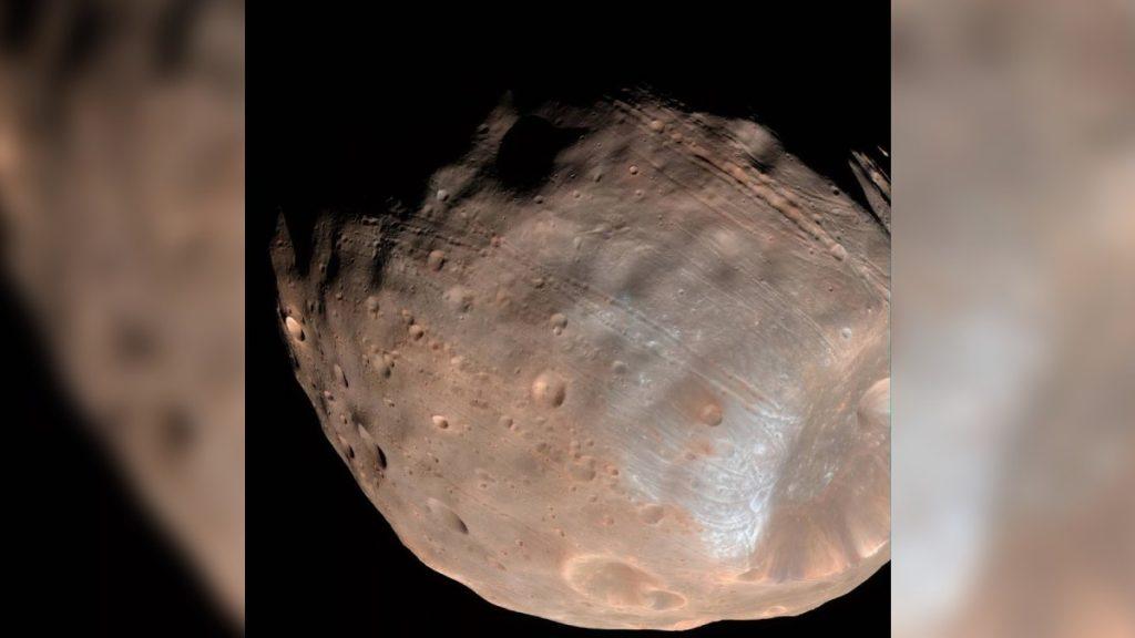 """""""Patata"""" o """"Ragedi"""", ¿la luna de Marte?  La NASA publica una foto de Phobos"""