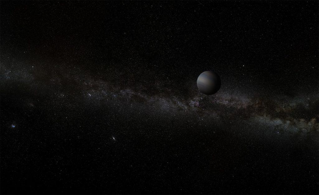 Se ha revelado un misterioso grupo de planetas que flotan libremente