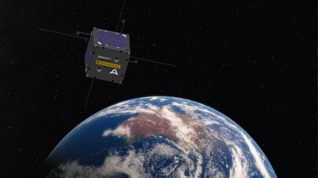 Binar-1, el primer satélite de WA, será lanzado hoy desde el Centro Espacial Kennedy de la NASA en Cabo Cañaveral.