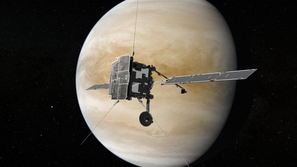 Solar Orbiter y BepiColombo hacen historia con el doble sobrevuelo de Venus