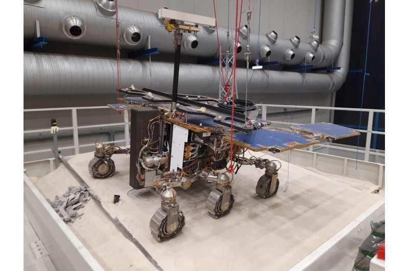 El primer éxito de perforación profunda de ExoMars