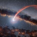 El escurridizo agujero negro se reveló cuando fue sorprendido comiendo una estrella