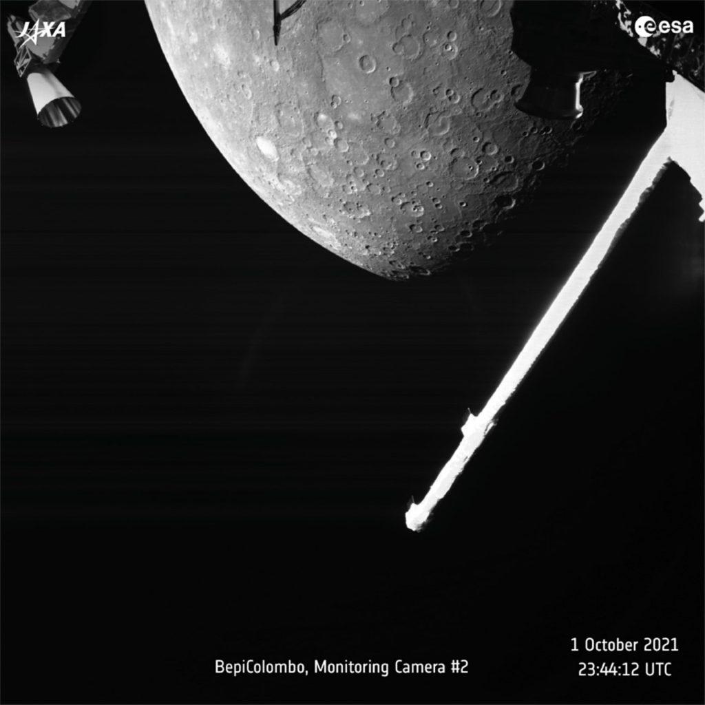 La misión Bepicolombo toma fotografías del primer vuelo de Mercurio
