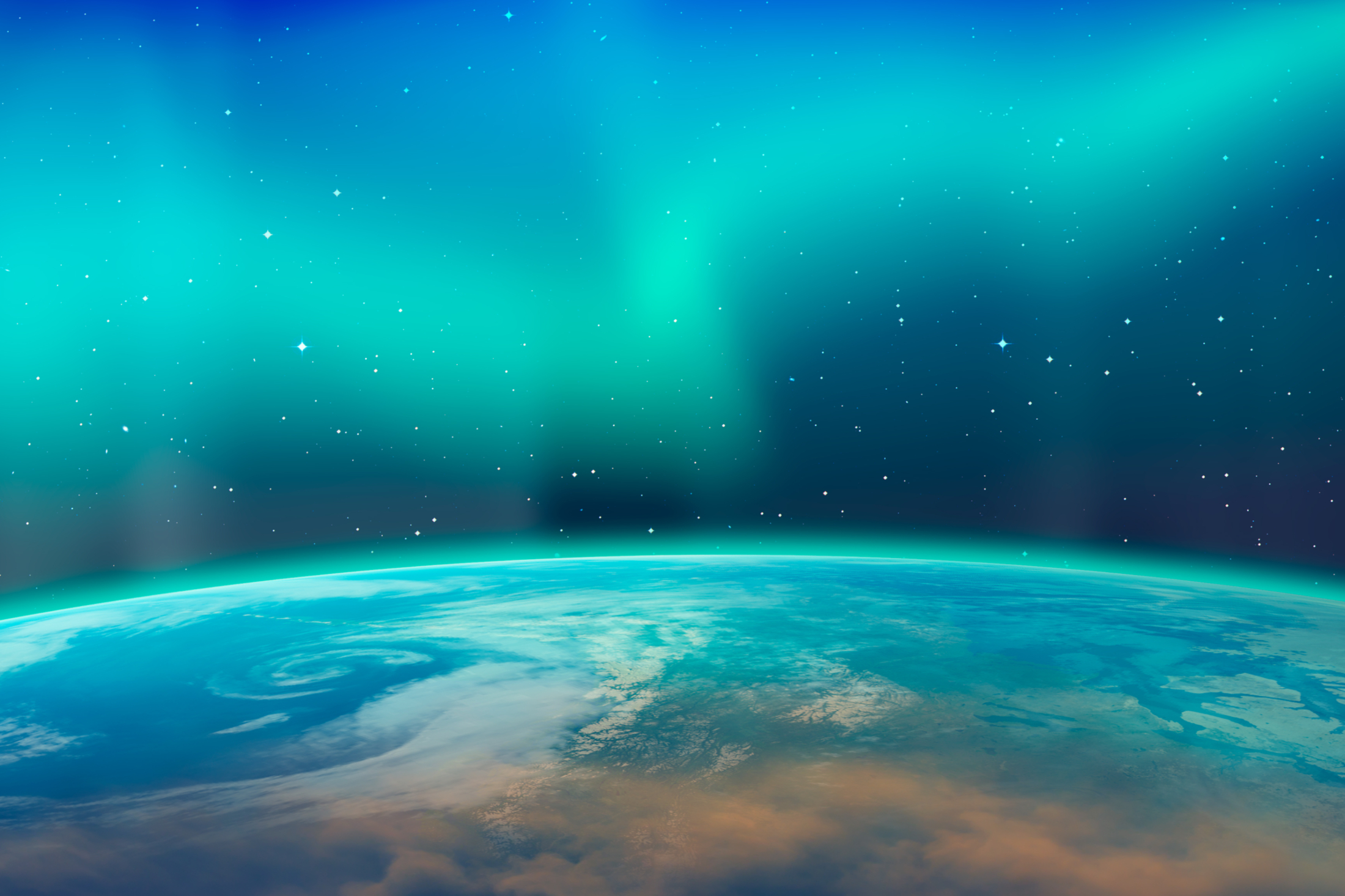 La aurora boreal es también conocida como aurora boreal.  Elementos de la imagen proporcionados por la NASA.  Foto_Mora T, Shutterstock