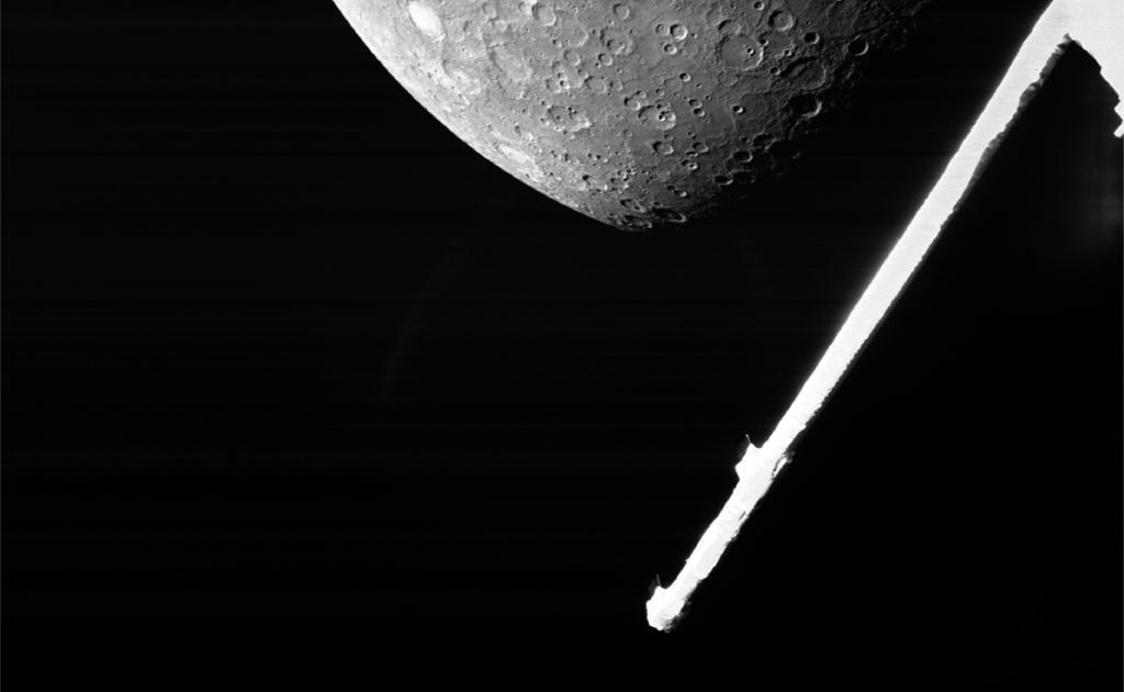BepiColombo: misión espacial europeo-japonesa captura imágenes de Mercurio    noticias espaciales