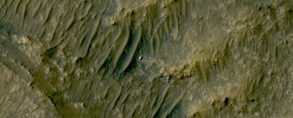 La nueva imagen de satélite de Little Perseverance on Mars te dará todas las sensaciones